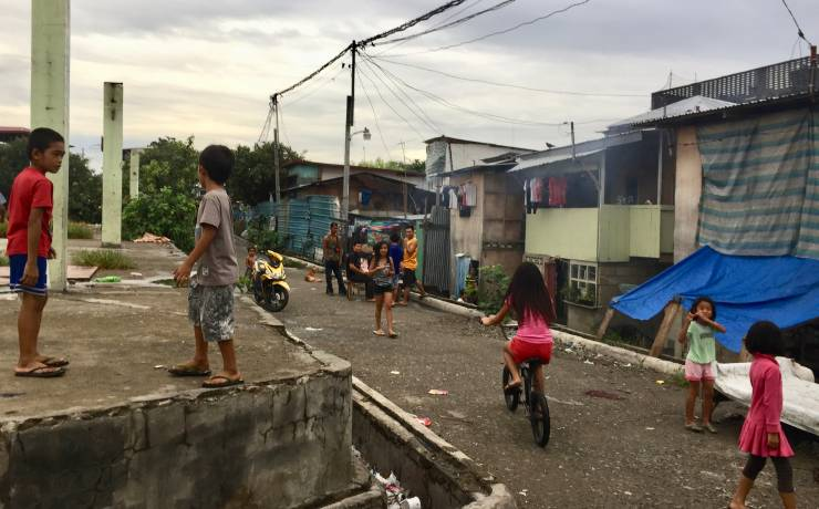 Taboan Bidonville Squatter Area Cebu