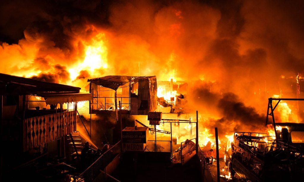 La lutte contre les incendies continue !